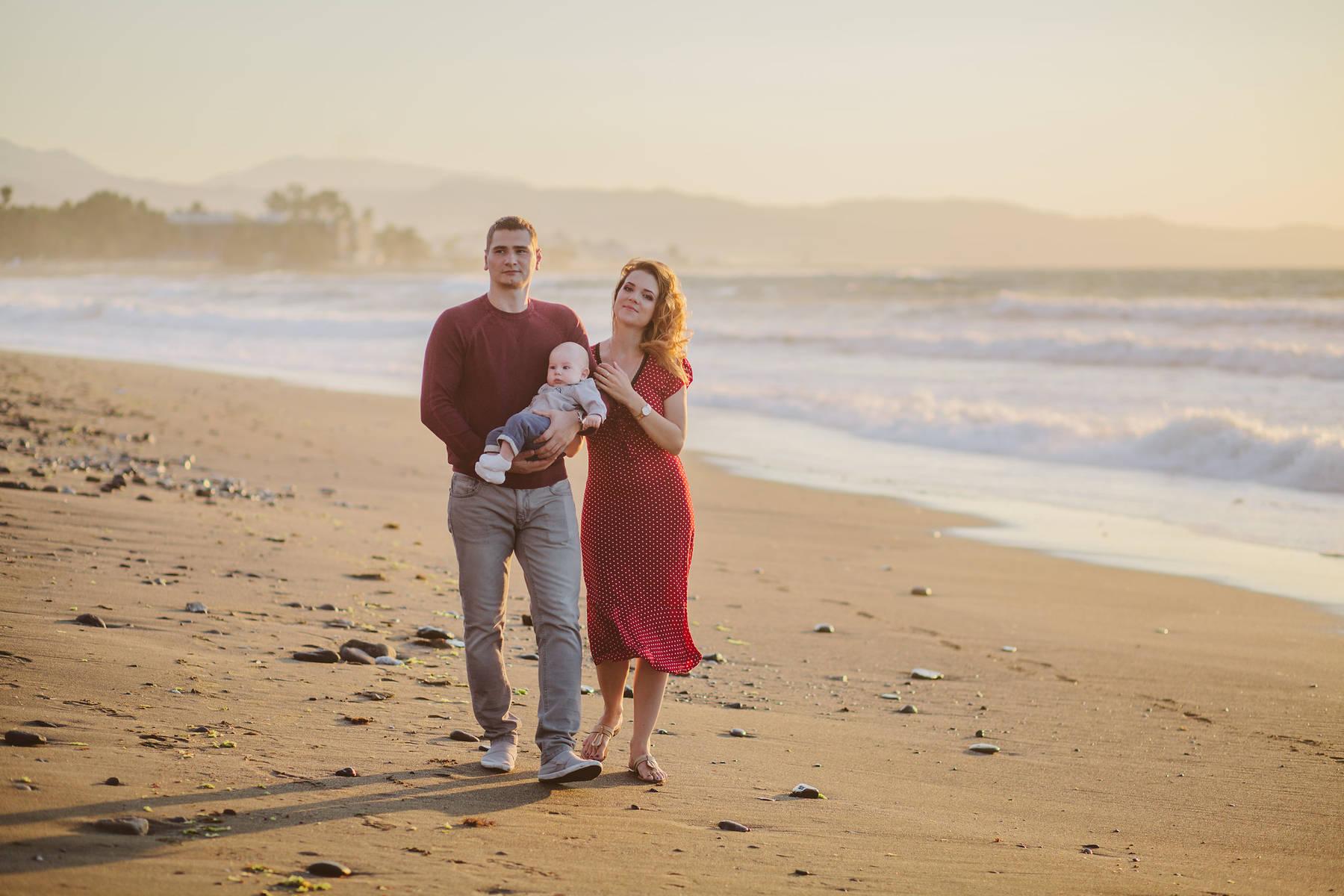 Рассветная семейная фотосессия в Сан Педро
