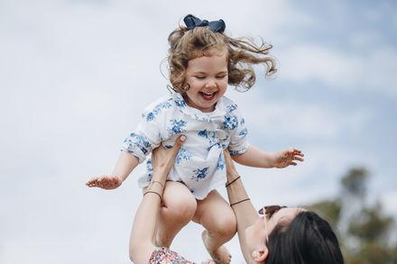 Детская фотосессия на пляже в Марбелье