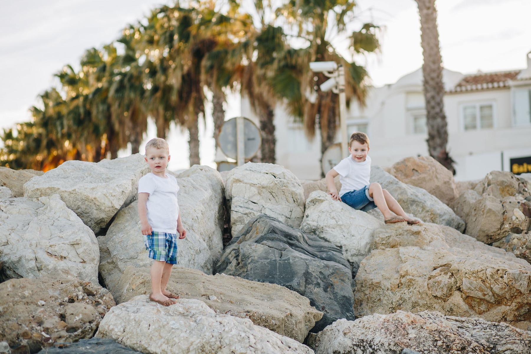 Семейная фотосессия в Бенальмадене