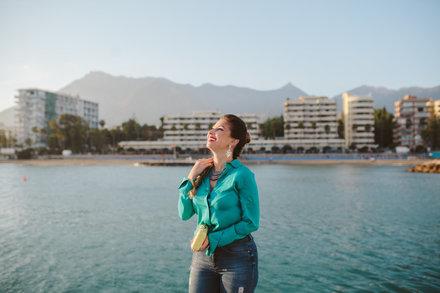 Sesión de fotos en el Centro Histórico de Marbella