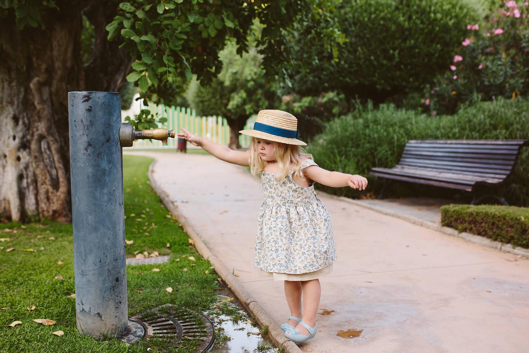 Семейная фотосессия в парке Бенаавис, Испания