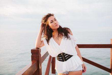 Sesión de fotos de amanecer en Marbella