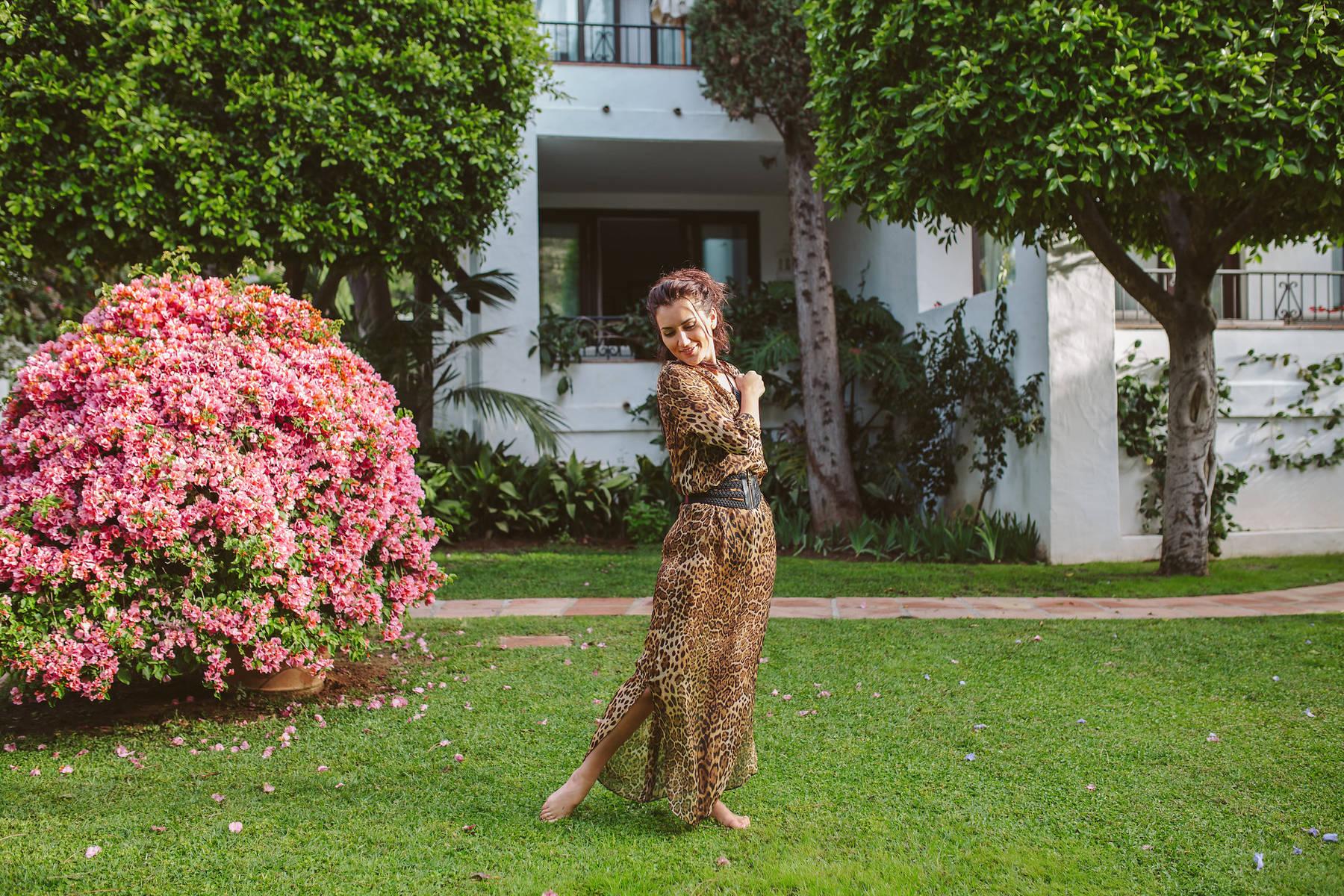 Рассветная портретная фотосессия в Марбелье