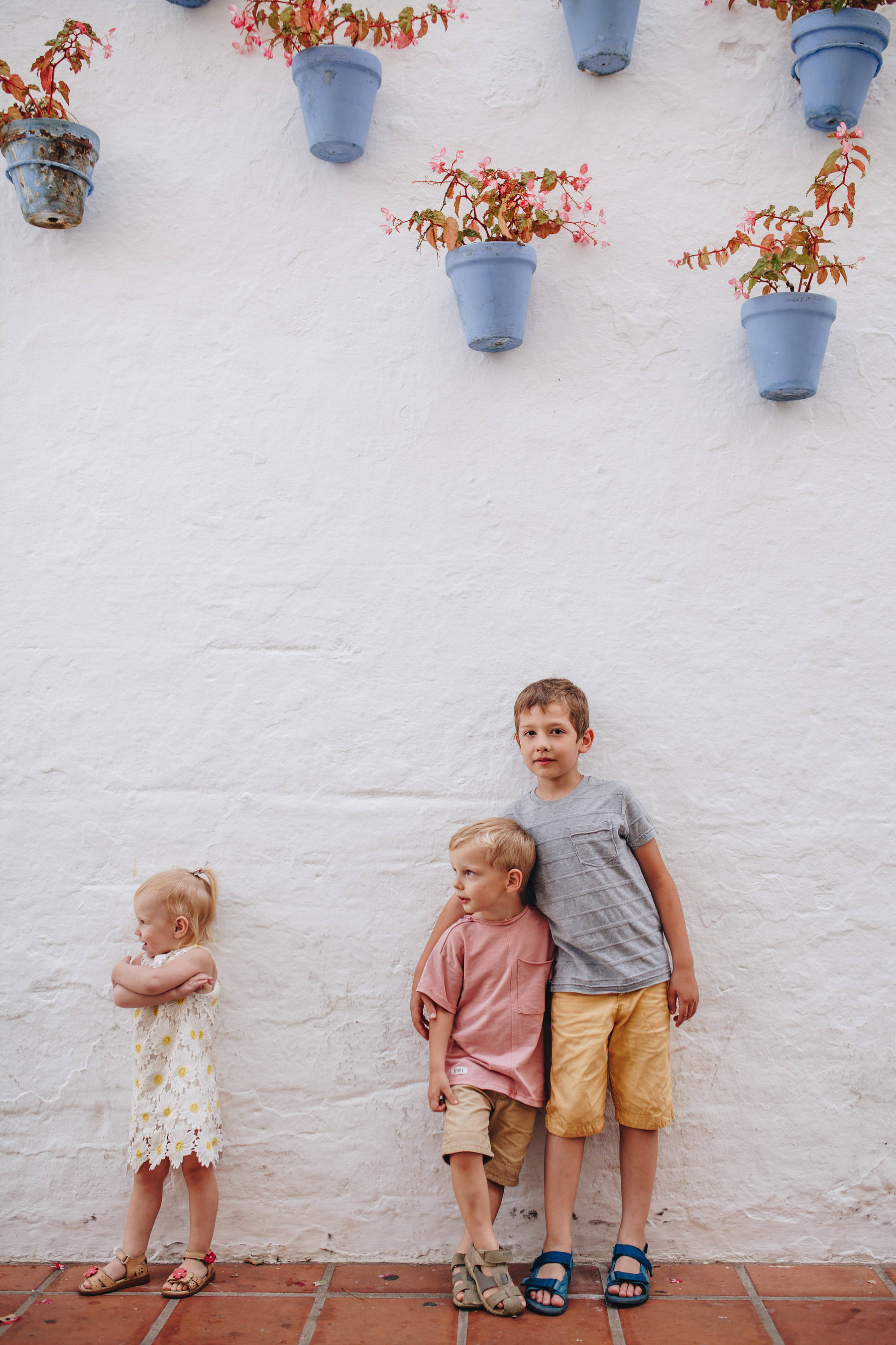 Семейная фотосессия в центре Марбельи