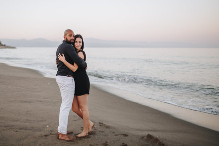 Love story photo session in Torremolinos
