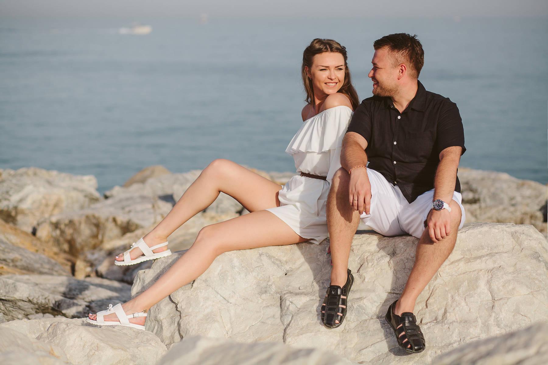 Романтическая фотосессия в медовый месяц в Марбелье