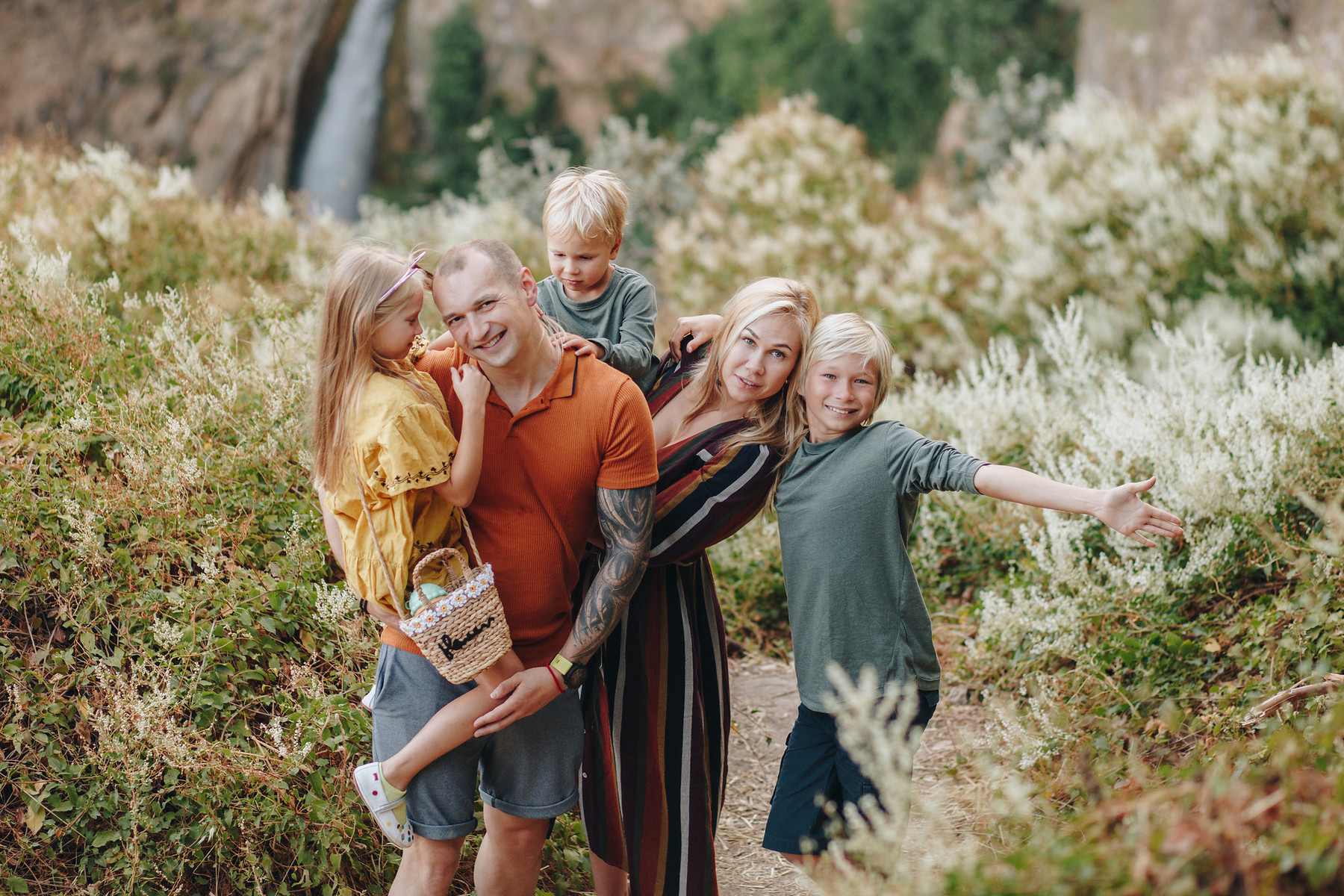 Sesión fotográfica de familia en Ronda