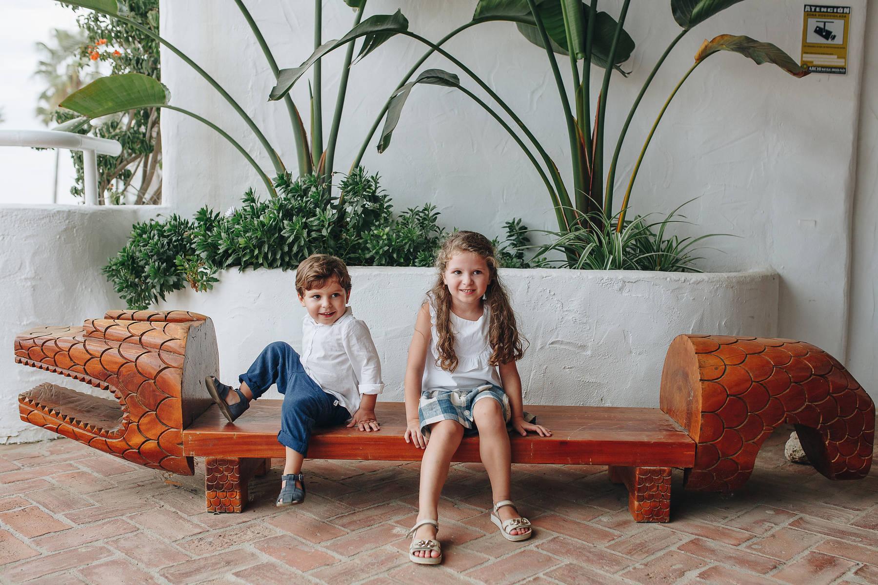 Семейная закатная фотосессия в Марбелье